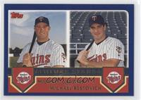Michael Cuddyer, Michael Restovich