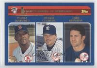 Pedro Martinez, Roger Clemens, Mike Mussina