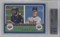 Joe Mauer, Justin Morneau [BGS 8.5]