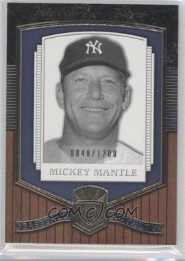 2003 Upper Deck Classic Portraits - [Base] #191 - Mickey Mantle /1200