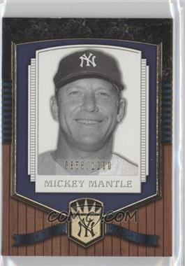 2003 Upper Deck Classic Portraits [???] #191 - Mickey Mantle /1200
