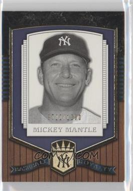 2003 Upper Deck Classic Portraits [???] #191 - Mickey Mantle