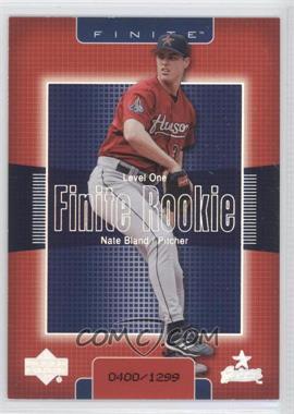 2003 Upper Deck Finite [???] #263 - Nate Bland /1299
