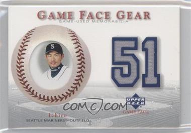 2003 Upper Deck Game Face Gear #GG-IS - Ichiro