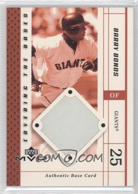 2003 Upper Deck MVP [???] #CB-BB - Barry Bonds