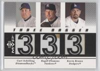 Curt Schilling, Kevin Brown, Roger Clemens