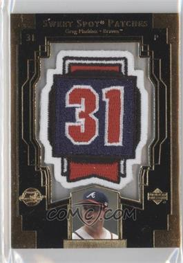2003 Upper Deck Sweet Spot Patches #GM1 - Greg Maddux