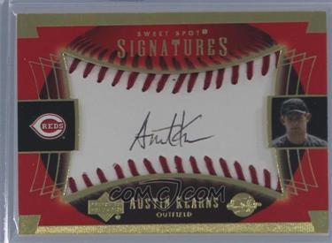 2003 Upper Deck Sweet Spot Sweet Spot Signatures #AK-AU - Austin Kearns