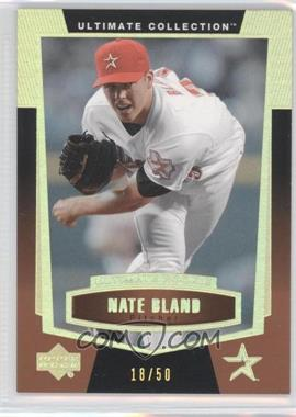 2003 Upper Deck Ultimate Collection - [Base] - Gold #85 - Nate Bland /50