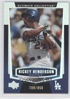 Rickey Henderson /850