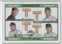 Randy Johnson, Luis Gonzalez, Curt Schilling, Matt Williams /175