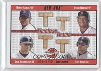Manny Ramirez, Pedro Martinez, Shea Hillenbrand, Trot Nixon /175