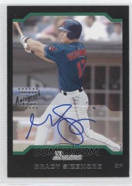 2004 Bowman - [Base] - Autograph [Autographed] #161 - Grady Sizemore