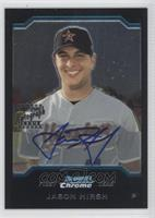 First Year Autograph - Jason Hirsh