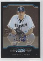 First Year Autograph - Tim Stauffer