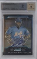 First Year Autograph - Lastings Milledge [BGS 9]