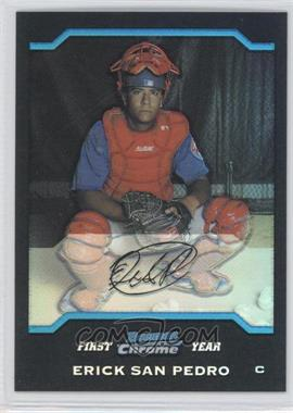 2004 Bowman Draft Picks & Prospects Chrome Refractor #BDP37 - Ervin Santana