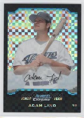 2004 Bowman Draft Picks & Prospects Chrome X-Fractor #BDP111 - Adam Lind /125