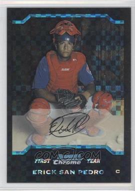 2004 Bowman Draft Picks & Prospects Chrome X-Fractor #BDP37 - Ervin Santana /125