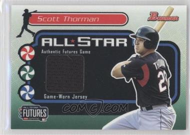 2004 Bowman Futures Game Gear #FG-ST - Scott Thorman