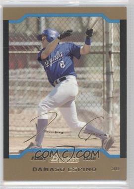 2004 Bowman Gold #239 - David Espinosa