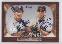 Brian Giles, Marcus Giles (Autographed) /50