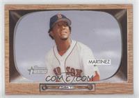 Pedro Martinez (Victor Martinez Stats on Back)