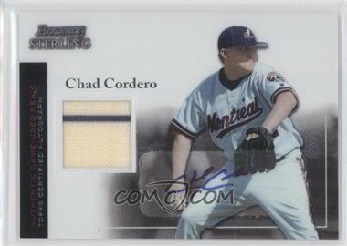 2004 Bowman Sterling - [Base] #BS-CC - Chad Cordero
