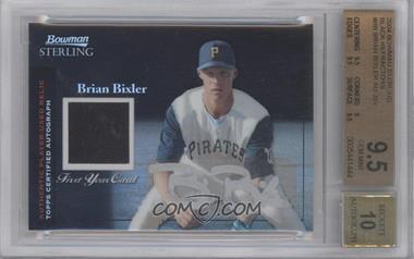 2004 Bowman Sterling Black Refractor #BS-BB - Brian Bixler /25 [BGS9.5]