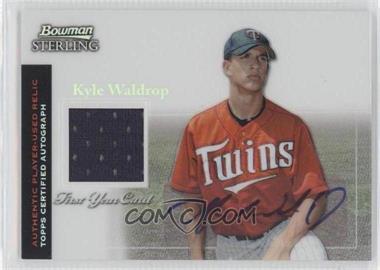 2004 Bowman Sterling Refractor #BS-KWA - Kyle Waldrop /199