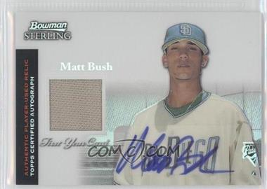 2004 Bowman Sterling Refractor #BS-MB - Matt Bush /199