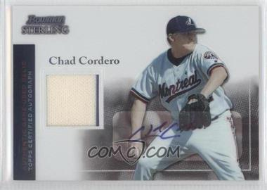 2004 Bowman Sterling #BS-CC - Chad Cordero