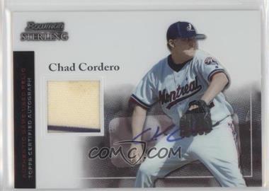 2004 Bowman Sterling #BS-CC - Chad Cordero