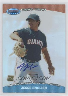 2004 Bowman's Best [???] #BB-JE - Jesse English