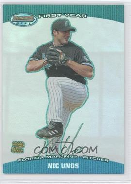 2004 Bowman's Best [???] #BB-NU - Nic Ungs