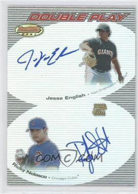 2004 Bowman's Best [???] #DPA-EN - Jewel Ens, Ricky Nolasco, Jesse English
