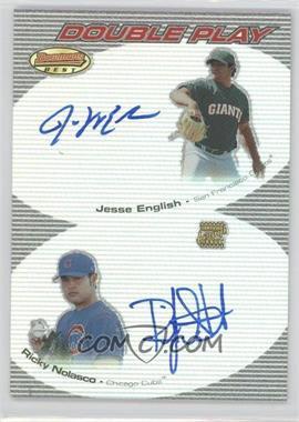 2004 Bowman's Best Double Play Autographs #DPA-EN - Ricky Nolasco, Jesse English