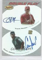 Conor Jackson, Travis Hanson