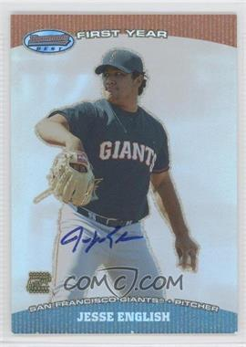 2004 Bowman's Best First Year Autographs #BB-JE - Jesse English