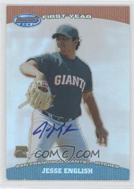 2004 Bowman's Best #BB-JE - Jesse English