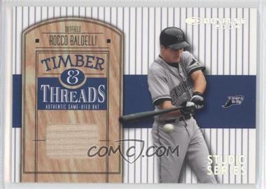 2004 Donruss - Timber & Threads - Studio Series #TT-37 - Rocco Baldelli /50