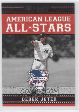 2004 Donruss American League All-Stars Black #AL-AS-6 - Derek Jeter /250