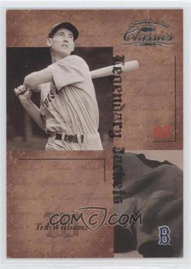 2004 Donruss Classics - Legendary - Jackets #LJK-5 - Ted Williams /50