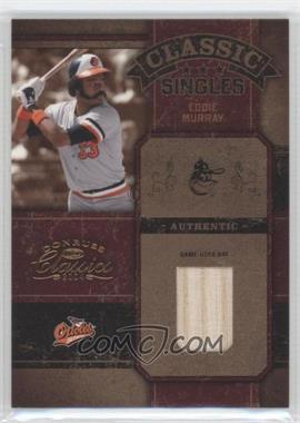 2004 Donruss Classics Classic Singles Game-Used Bat #CC-6 - Eddie Murray /50