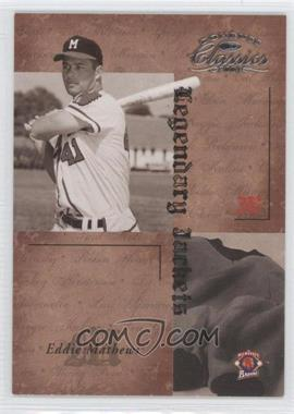 2004 Donruss Classics Legendary Jackets #LJK-31 - Eddie Mathews /50