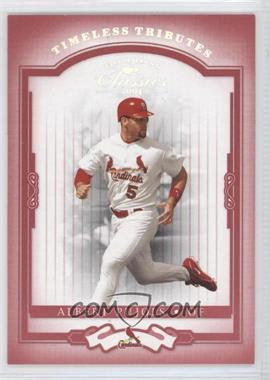 2004 Donruss Classics Timeless Tributes Red #1 - Albert Pujols /100