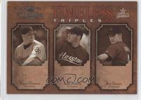 Roger Clemens, Andy Pettitte, Roy Oswalt /500