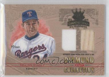 2004 Donruss Diamond Kings - Diamond Cut Collection - Combos Materials [Memorabilia] #DC-48 - Nolan Ryan /34