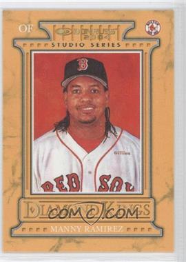 2004 Donruss Diamond Kings Inserts Studio Series #DK-14 - Manny Ramirez /250