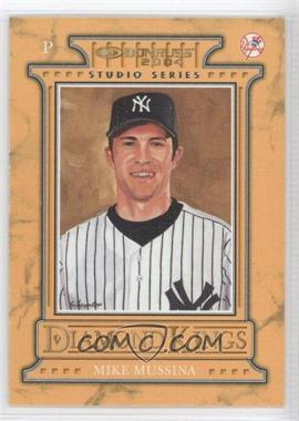 2004 Donruss Diamond Kings Inserts Studio Series #DK-18 - Mike Mussina /250